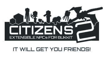 Citizens v1.1 - Human NPCs for Bukkit [1185]